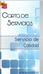 Carta de Servicios Calidad
