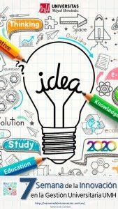 Cartel de la Semana de la Innovación