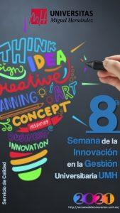Imagen corporativa de la 8ª Semana de Innovación
